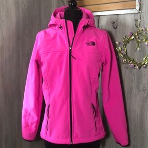 The North Face Bright Pink Full Zip Jacket
